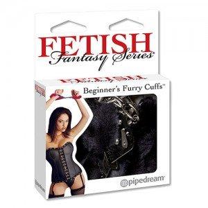 Catuse Ffetish Fantasy Series Beginner's Furry Cuffs Black