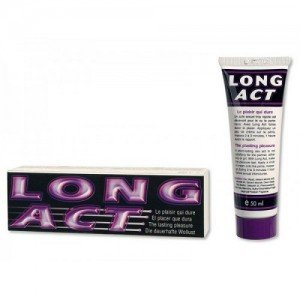 Crema Long Act Delay Penis