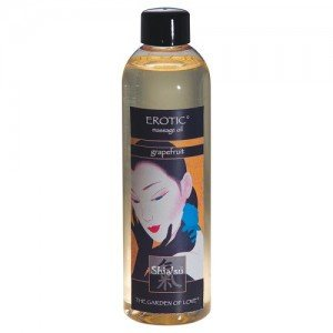 Shiatsu Erotic Massage Oil Grapefruit