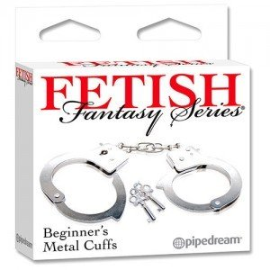Catuse Fetish Fantasy Series Metal Cuffs