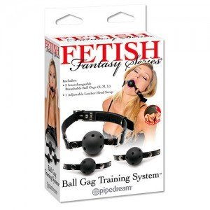 Calus Fetish Fantasy Series Ball Gag Training System