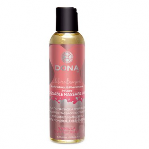 Ulei Masaj Erotic Dona Kissable Vanilla Massage Oil