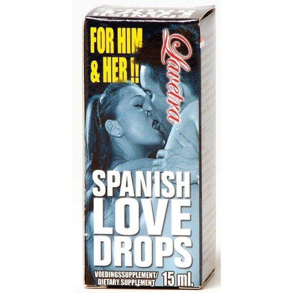 Afrodisiac Spanish Love Drops Lavetra