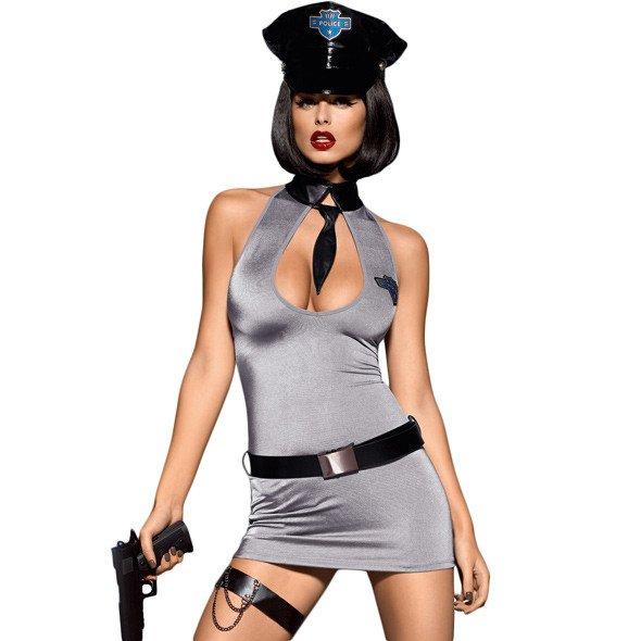 Costum Rochie De Politista Sexy