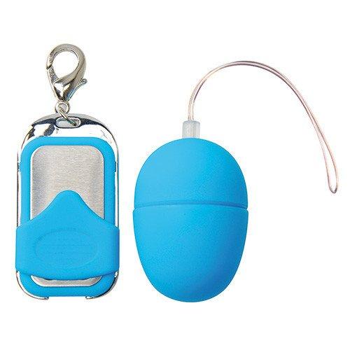 Ou Vibrator Pleasure Shiver Small Blue