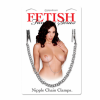 Fetish Fantasy Nipple Chain Clamps