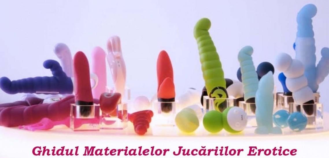 Ghidul Materialelor Jucăriilor Erotice