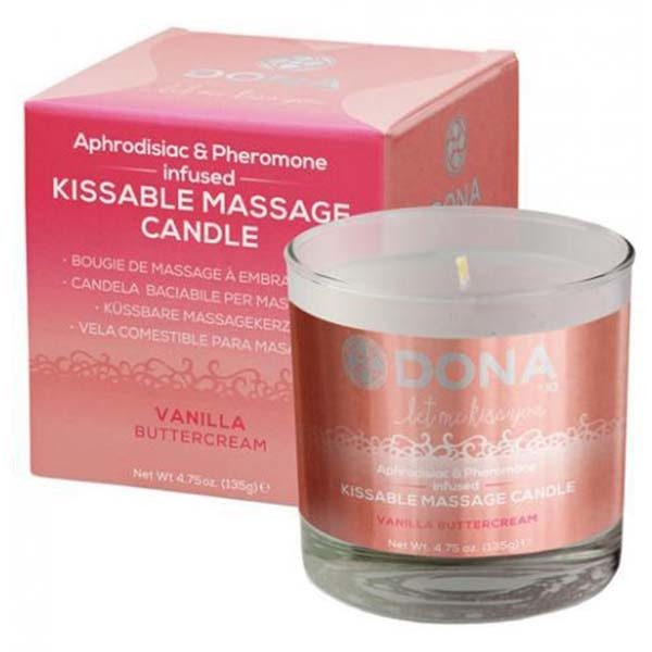 Lumânare Pentru Masaj Dona Kissable Vanilla