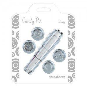 Multi Stimulator Candy Pie Argintiu -1