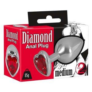 Diamond Anal Plug