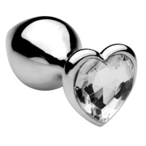 Plug-Anal-Heart-Jewel-Plug-Small